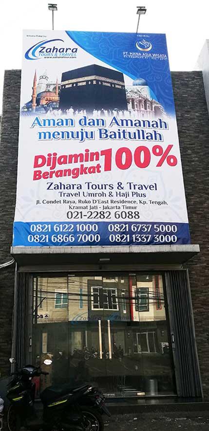 Kantor Pusat Zahara Tour Jakarta.