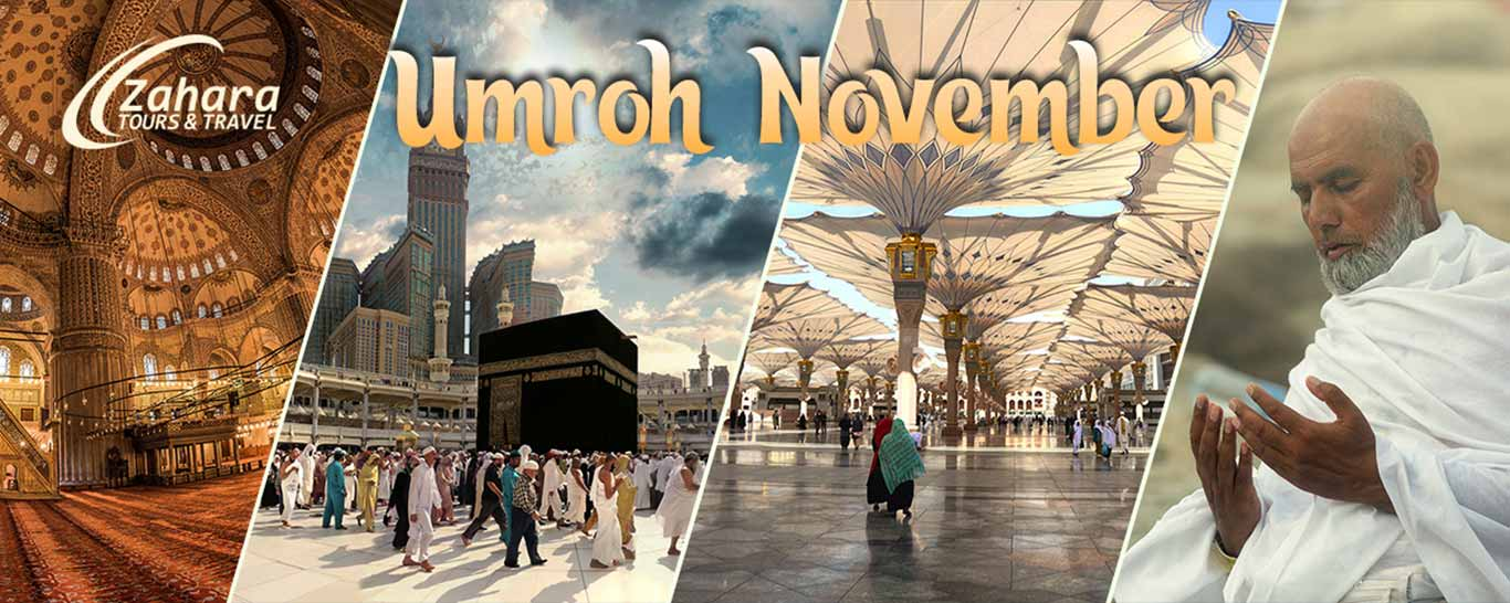 umroh november 2019 zahara tour - header