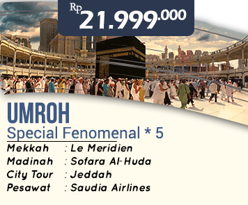 Umroh Hemat Special Fenomenal Bintang 5 21 Jt Zahara Tour Travel