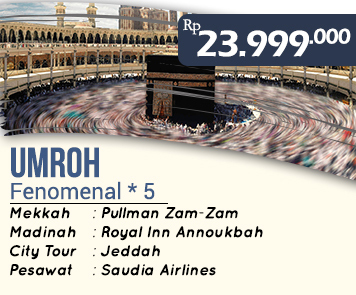 Umroh Murah Fenomenl Bintang 5 23 Jt Zahara Tour Travel