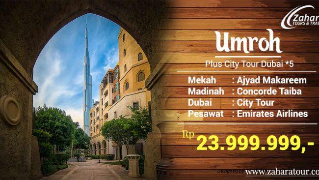 Umroh Plus Dubai 2019 Jakarta