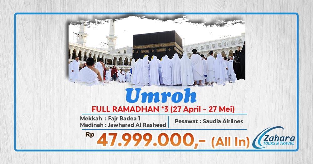 Umroh Ramadhan 1 Bulan