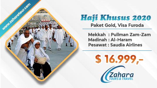 Haji Plus Biaya Murah Zahara Tour 2020