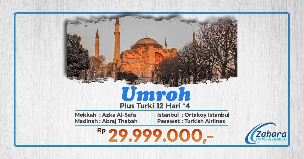 Umrah November 2020 Plus Turki