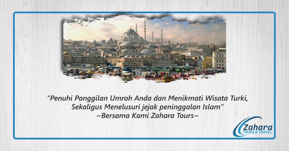 plus turki umroh zahara tour