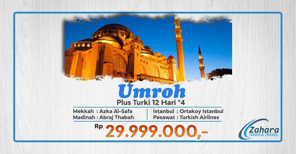Umroh Akhir Tahun 2020 pls Turki *4 Jakarta