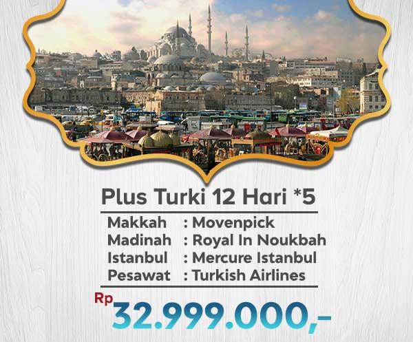 Umroh Murah Plus Turki 33jt