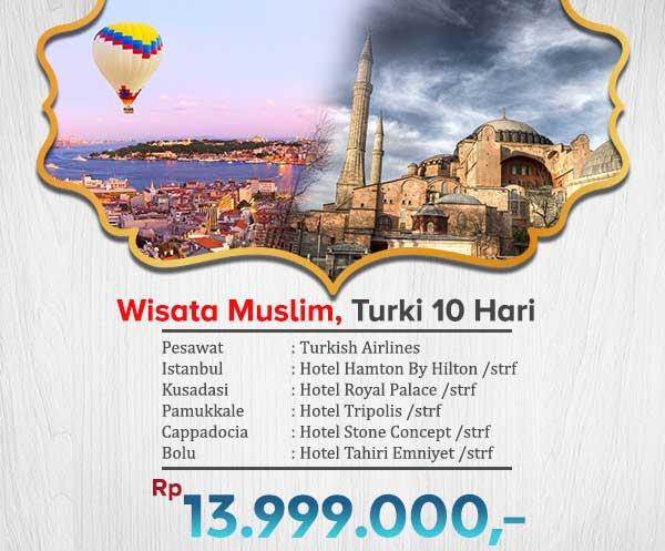 Wisata Muslim Turki 18jt